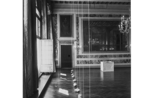 Susumu Koshimizu, dalla mostra Asiana, palazzo Vendramin Calergi, Venezia 1995. Foto di E. Cattaneo.