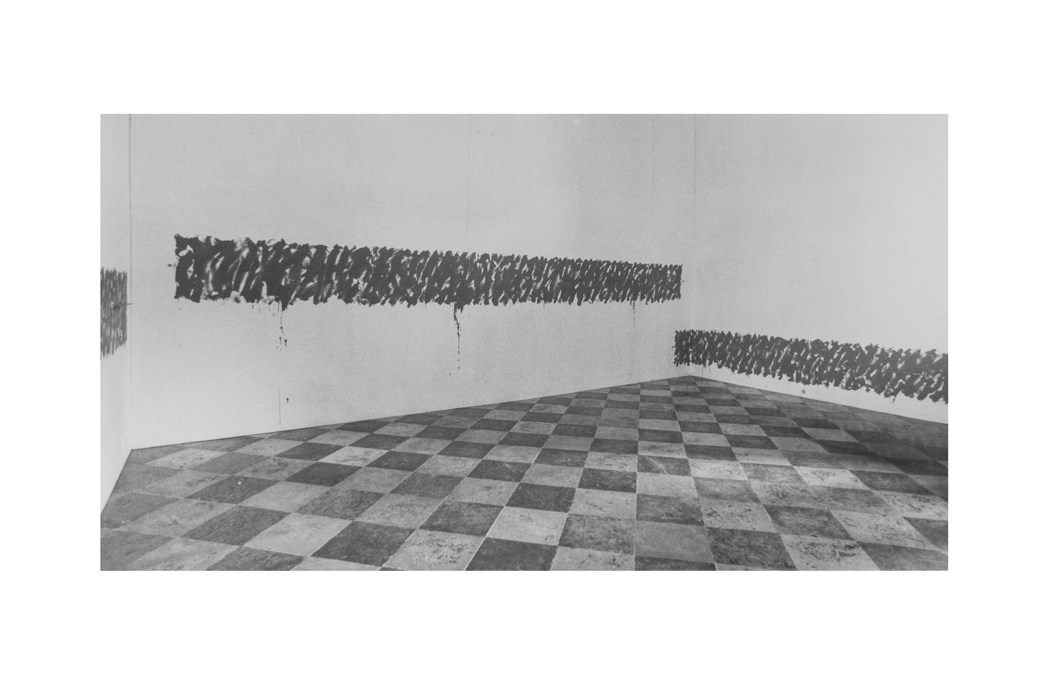 Katsuro Yoshida, dalla mostra Asiana, Palazzo Vendramin Calergi, Venezia 1995. Foto di E. Cattaneo.