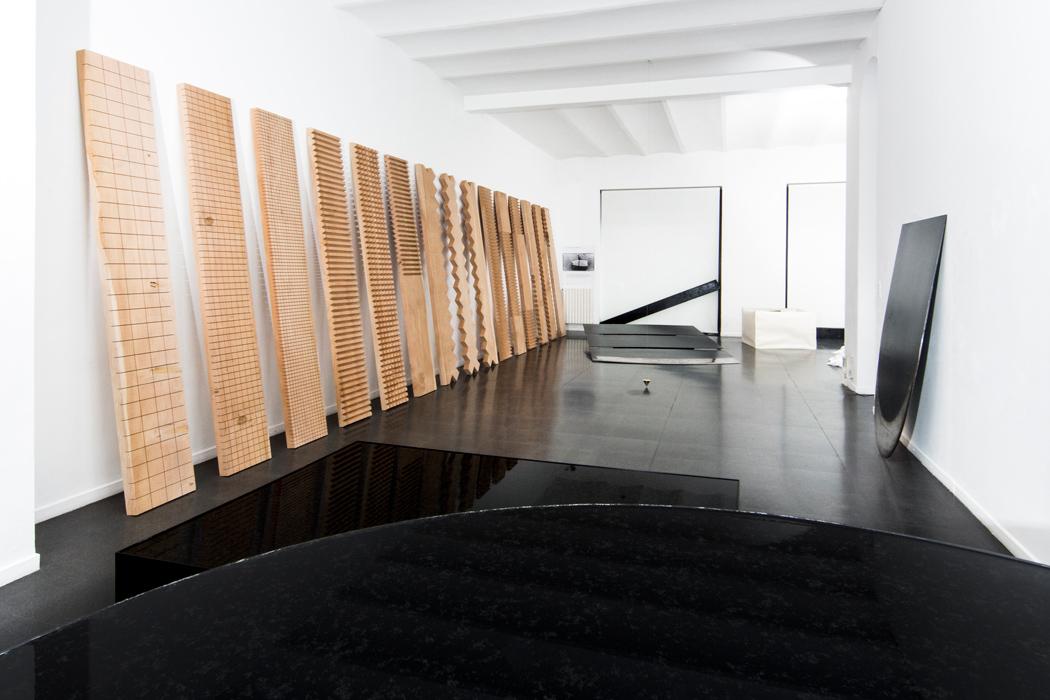 Fondazione Mudima, Milano, Maggio 2015, in primo piano N. Sekine, S. Koshimizu, N. Takayama. © Foto di Fabio Mantegna per Fondazione Mudima