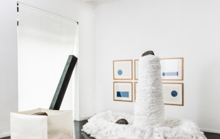 Fondazione Mudima, Milano, Maggio 2015, S. Koshimizu, N. Takayama, L. Ufan. © Foto di Fabio Mantegna per Fondazione Mudima