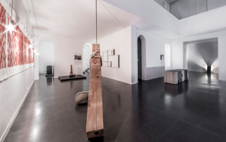 Fondazione Mudima, Milano, Maggio 2015, veduta complessiva da sx a dx K. Suga, K. Yoshida, K. Enokura, J. Takamatsu. © Foto di Fabio Mantegna per Fondazione Mudima