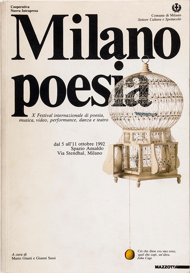 Grafica di Gianni Sassi