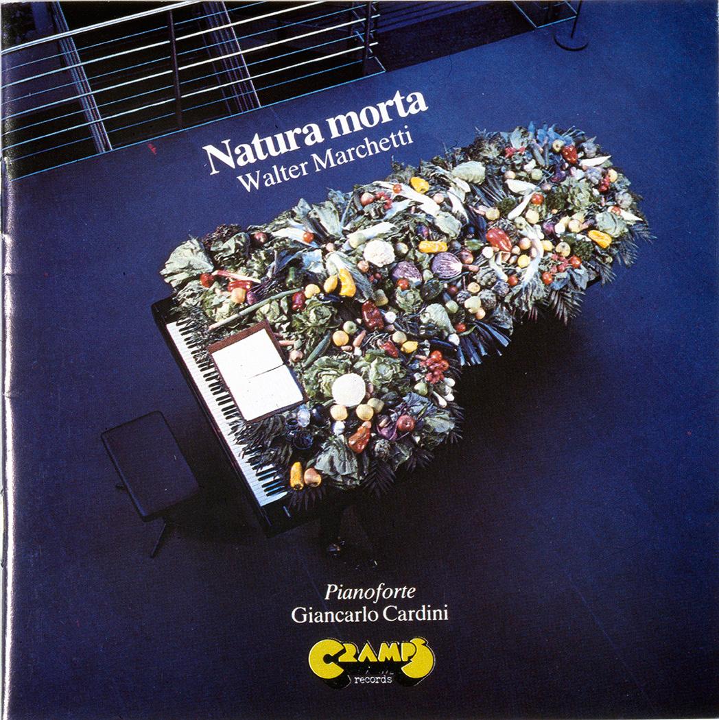 Copertina disco, grafica di G. Sassi