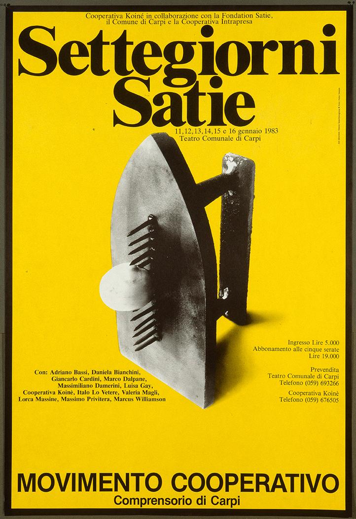 Manifesto, grafica di G. Sassi
